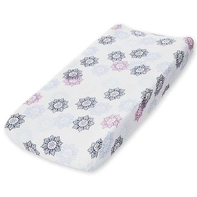 Alternate image 1 for aden + anais™ essentials Cotton Muslin Changing Pad Cover