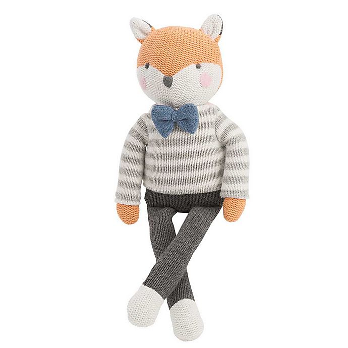 Alternate image 1 for Elegant Baby® Knit Plush Toy