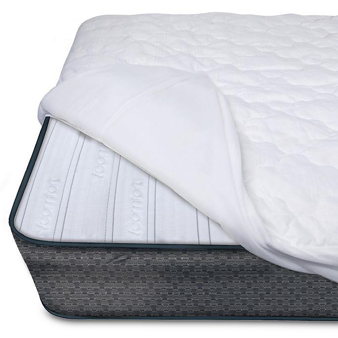 Serta® iComfort Premium Crib Mattress Pad in Solid White ...