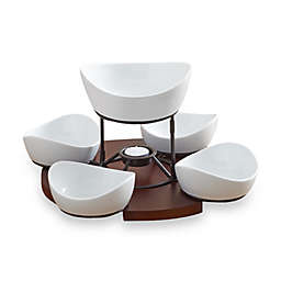 B. Smith® Lazy Susan with Serving Bowls Set