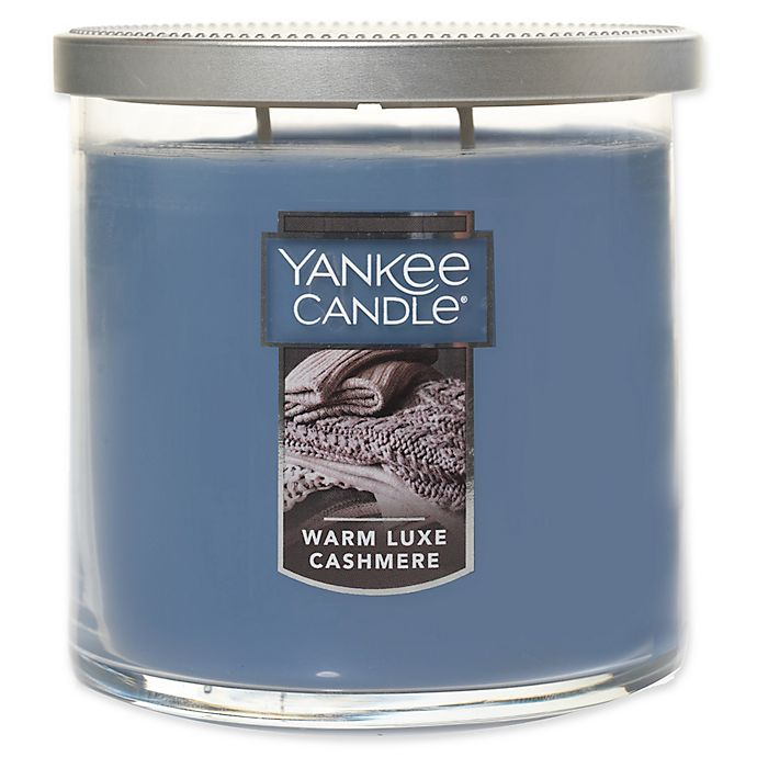 Alternate image 1 for Yankee Candle® Warm Luxe Cashmere Medium Tumbler Candle
