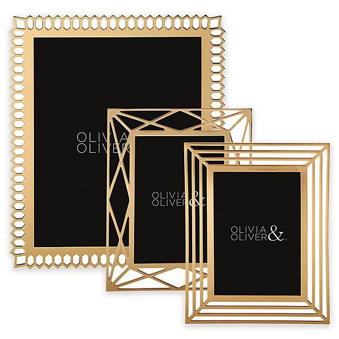 Alternate image 1 for Olivia & Oliver Picture Frame in Gold