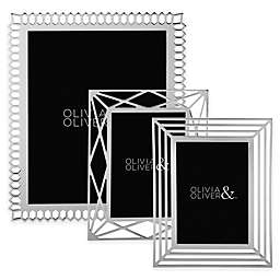 Olivia & Oliver Picture Frame in Silver