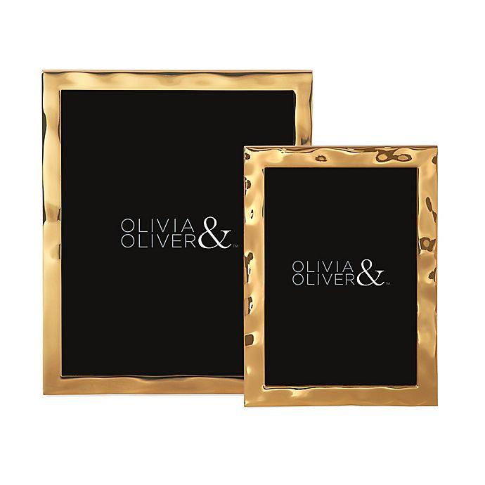 Alternate image 1 for Olivia & Oliver® Harper Polished Gold Picture Frame