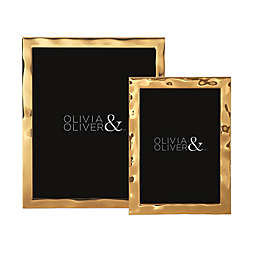Olivia & Oliver Harper Polished Gold Picture Frame