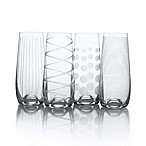 Mikasa® Cheers Stemless Champagne Flutes (Set of 4)