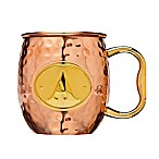 Monogram Letter  A   Moscow Mule Mug in Copper