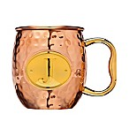 Monogram Letter  J  Moscow Mule Mug in Copper