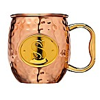 Monogram Letter  S  Moscow Mule Mug in Copper