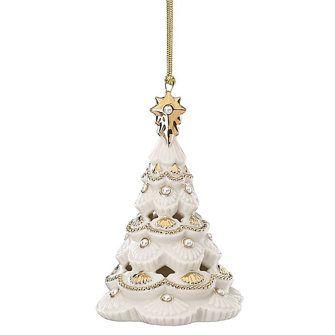 Lenox 174 Florentine And Pearl Christmas Tree Ornament Bed