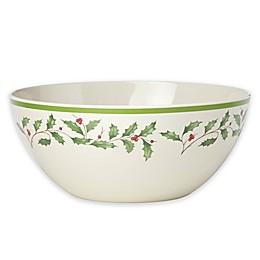 Lenox® Holiday™ Melamine Serving Bowl
