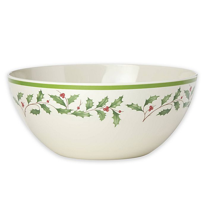 Alternate image 1 for Lenox® Holiday™ Melamine Serving Bowl