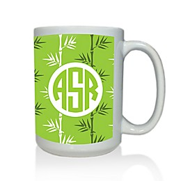 Carved Solutions Elements Mug in Green