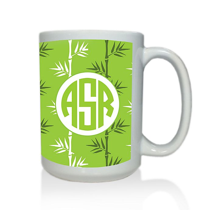 Alternate image 1 for Carved Solutions Elements Mug in Green