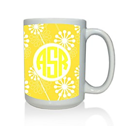 Carved Solutions Elements Mug in Yellow
