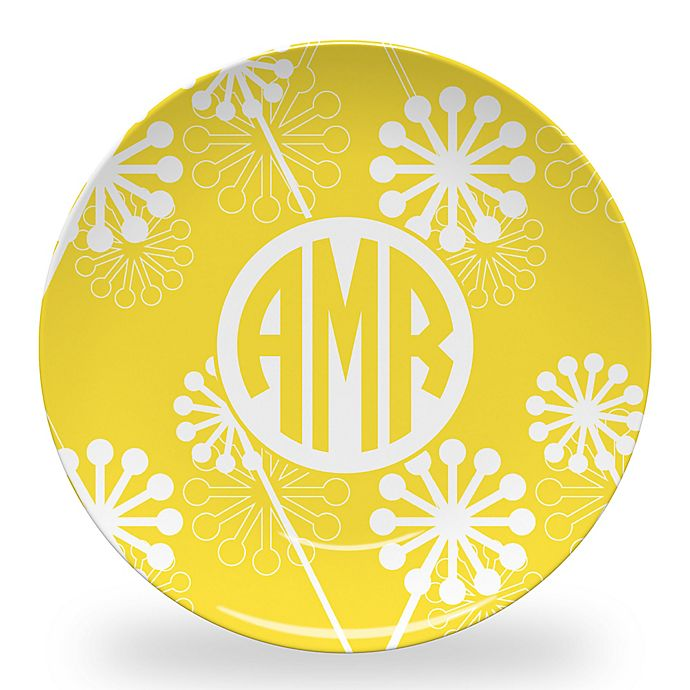 Alternate image 1 for Carved Solutions Elements Dinner Plate in Yellow
