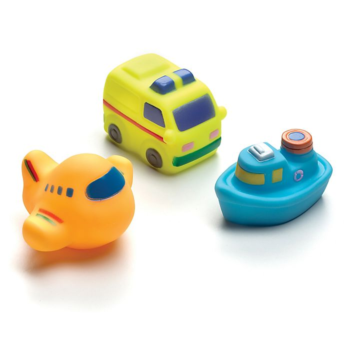 Alternate image 1 for Playgro On the Move Squirtees (Set of 3)