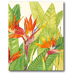 Courtside Market Tropical Flowers 16-Inch x 20-Inch Canvas Wall Art
