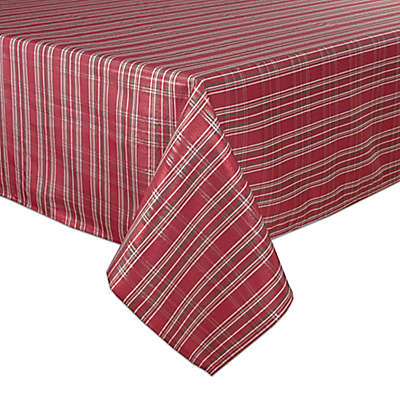 Bardwil Linens Christmas Plaid Tablecloth Collection
