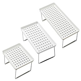 madesmart® Dots Stacking Cabinet Shelf