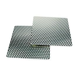 Range Kleen SilverWave 7-Inch x 7-Inch Counter Mat (Set of 2)