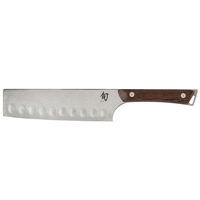 Alternate image 1 for Shun Kanso 6.5-Inch Nakiri Knife