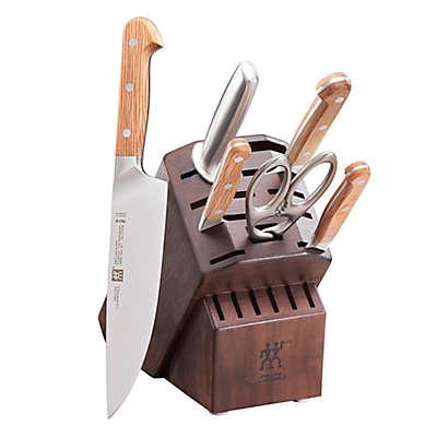 Zwilling® J.A. Henckels Pro Holm Oak 7-Piece Knife Block Set in Walnut