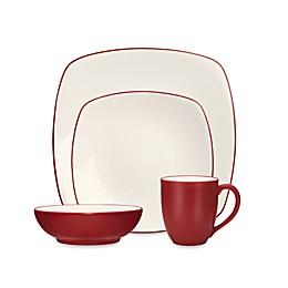 Noritake® Colorwave Square Dinnerware Collection in Raspberry