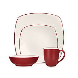 Noritake® Colorwave Square Dinnerware Collection in Raspberry