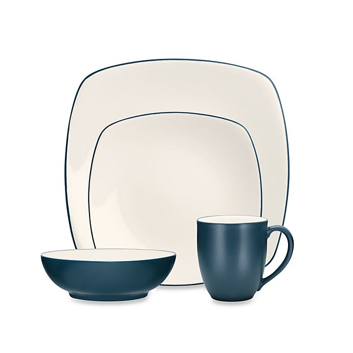 Alternate image 1 for Noritake® Colorwave Square Dinnerware Collection in Blue