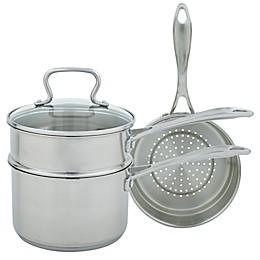 Range Kleen® Stainless Steel 4-Piece Sauce Pan Set