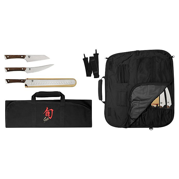 Alternate image 1 for Shun Kanso 4-Piece BBQ Set