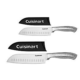 Cuisinart® Classic Stainless Steel 4-Piece Santoku Set