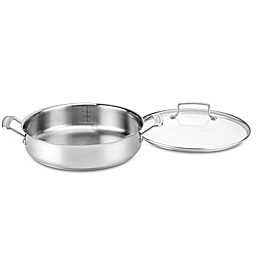 Cuisinart® Chef's Classic Pro 5-Quart Casserole with Cover in Stainless Steel