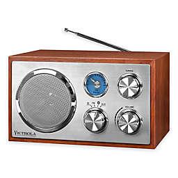 Victrola™ FM Bluetooth Desktop Radio