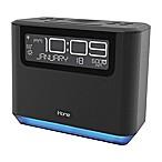 iHome® Bedside Alexa Alarm Clock in Black