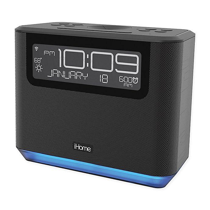 Ihome Bedside Alexa Alarm Clock In