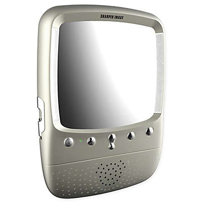 Sharper Image® LED Shower Bluetooth Radio in Satin Nickel
