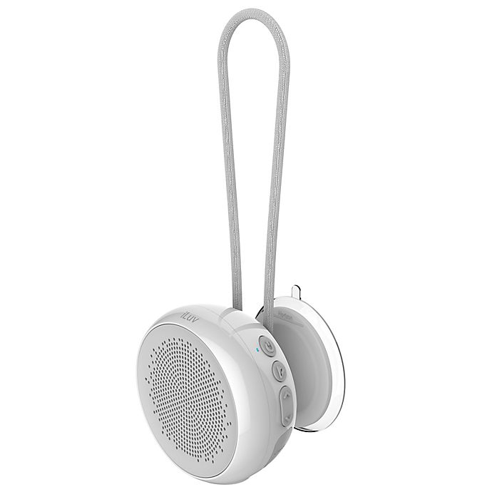 Alternate image 1 for iLuv Aud Shower Bluetooth Speaker in White
