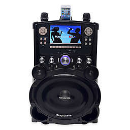 Karaoke USA DVD/CDG/MP3G Karaoke with Screen/Bluetooth in Black