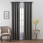 SmartBlock™ Chroma 54-Inch Rod Pocket Blackout Window Curtain Panel in Charcoal