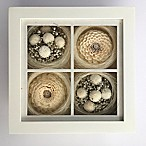 Floral Art 9-Inch Square Shadow Box
