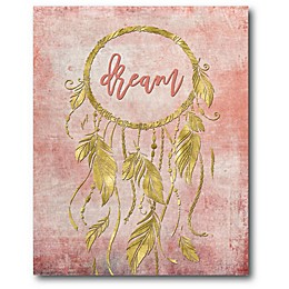 Courtside Market Dreamcatcher 16-Inch x 20-Inch Canvas Wall Art