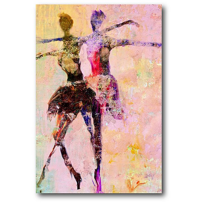 Alternate image 1 for Courtside Market Ballerina 12-Inch x 18-Inch Canvas Wall Art