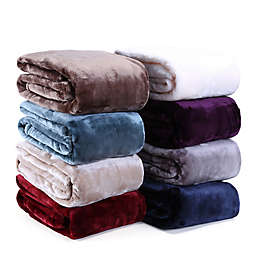 VelvetLoft® Plush Throw Blanket