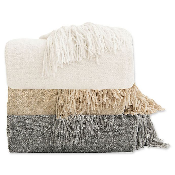 Alternate image 1 for Chenille Luxury Heavyweight Hanging Throw Blanket
