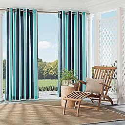 Parasol Coco Bay Indoor/Outdoor Grommet Top Window Curtain Panel
