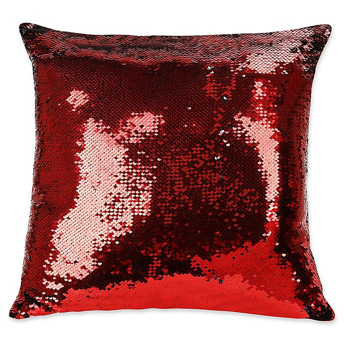 Shimmer Square Throw Pillow | Bed Bath & Beyond