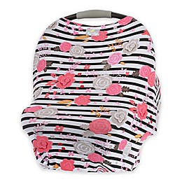 Itzy Ritzy® Mom Boss™ Multi-Use Cover in Floral Stripe