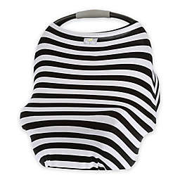 Itzy Ritzy® Mom Boss™ Multi-Use Cover in Black and White Stripe